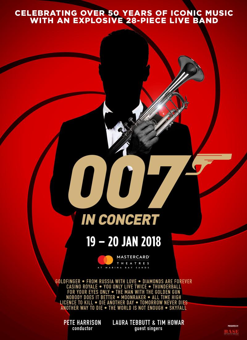 007 in Concert – Singapore – Pete Harrison